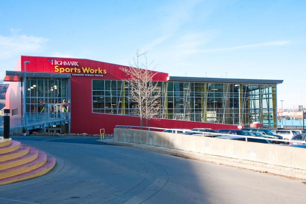 Highmark Sportsworks installs Sky Trail
