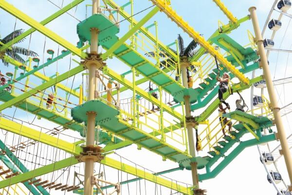 Sky Rail Straight Model Zip Line