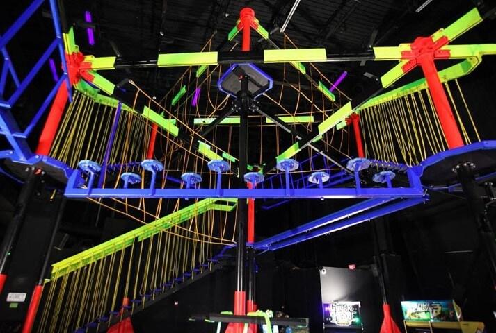 Wonderworks Orlando Sky Trail glow paint