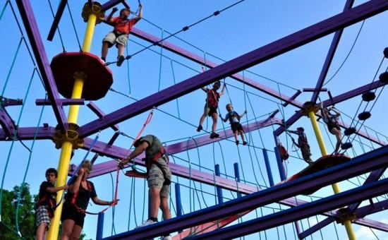 Safari Niagara ropes course